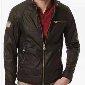 Buffalo David Button Jailon Motorcycle Jacket